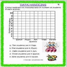 maths data handling worksheet 4 grade 3 estudynotes