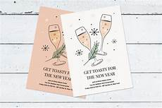 postcard template year 5 new year s invitation template postcard templates