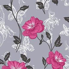 flower wallpaper grey millie floral wallpaper charcoal and pink m0877