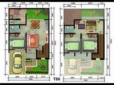 Denah Rumah Minimalis Type 36 72 Denah Rumah Minimalis