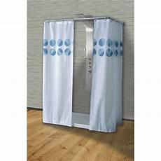 tende da doccia in tessuto roger tenda doccia in tessuto 180x200 cm saniplast industry