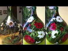 decorare vasi di vetro damigiane in vetro 1