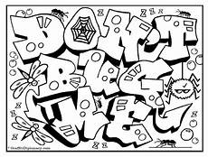 graffiti letters coloring pages at getdrawings free