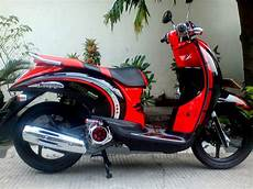 Motor Modifikasi by Gambar Modifikasi Motor Honda Scoopy Terbaru Modifikasi