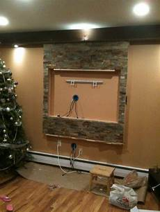 tv wall mount and entertainment center wall framed and