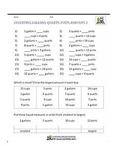 measurement worksheets year 4 1648 free math sheets converting customary units