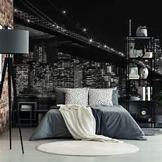 new york fototapete fototapete new york bei nacht wall art de