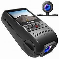 dashcam mit 2 kameras für vorne und hinten crosstour dash auto 1080p vorne und 720p hinten kamera
