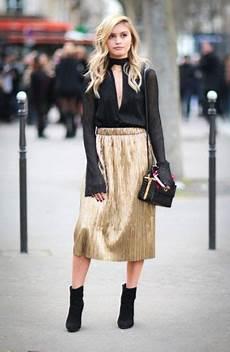 Stehle Gold Schwarz - 23 shiny metallic skirt you ll styleoholic