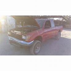 car engine repair manual 1997 toyota tacoma user handbook used 1997 toyota tacoma parts car red with grey interior 6 cyl engine manual transmission