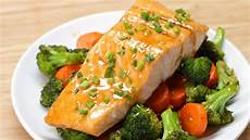 one pan teriyaki salmon dinner youtube