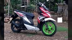Modifikasi Motor Beat Fi Babylook by Modifikasi Standart Honda Beat Fi Babylook Style 2017