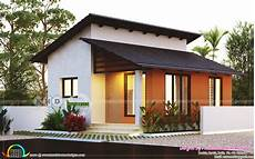 house plans in kerala with 2 bedrooms small low cost 2 bedroom home plan kerala home design