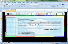 aplikasi kwitansi otomatis dengan microsoft excel edukasi baru