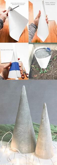 gießformen für beton deko peque 241 o 225 rbol de navidad con cemento home and diy