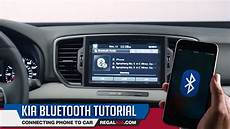 Kia Bluetooth Tutorial How To Connect Phone To Car