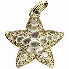 collezione pomellato pomellato moonstone gold sirene starfish pendant at 1stdibs
