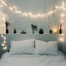 White Bedroom Ideas With Lights by 23 Cool String Lights Ideas For Your Bedroom Shelterness