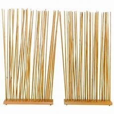 panneau bois bambou pliant salle diviseur bois de bambou d origine horizontale