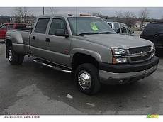 auto manual repair 2003 chevrolet silverado 3500 electronic toll collection 2003 chevrolet silverado 3500 lt crew cab 4x4 dually in light pewter metallic 104681 all