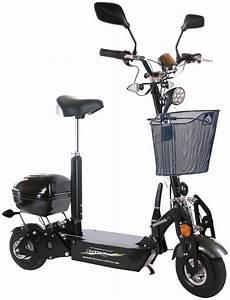 Elektro Scooter Mit Sitz Dreirad - didi thurau e scooter 187 city roller safety rsp 171 20 km h