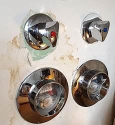 absperrventil wasser reparieren wasserdruck beim warmwasser gering absperrhahn defekt