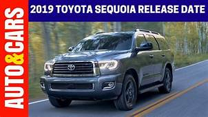 2019 Toyota Sequoia Release Date Redesign Specs And