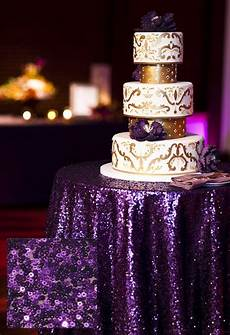 purple sequin tablecloth sequin cake tablecloth wedding bling event decor ebay