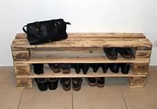 Schuhschr 228 Nke Einzigartiges Schuhregal Aus Paletten