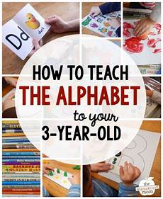 learning letters with a 3 year old lesson plans