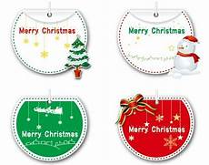 free of lovely merry christmas labels vector 05 titanui