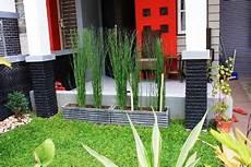 Gambar Inspirasi Desain Taman Depan Rumah Cluster