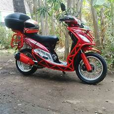 Modifikasi Motor Mio Smile by Modifikasi Motor Mio Smile Kumpulan Gambar Foto Modifikasi