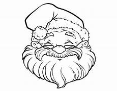 a santa claus coloring page coloringcrew
