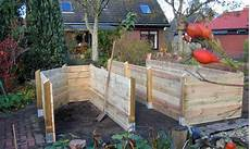 komposter selber bauen stein und hochbeetbau