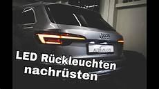 Audi A4 B9 8w Led R 252 Ckleuchten Mit Dynamischen Blinker