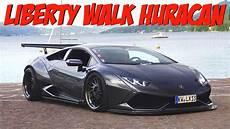 Lexy Roxx Driving Liberty Walk Lamborghini Huracan