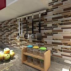 Kitchen Peel And Stick Backsplash Art3d 12 Quot X 12 Quot Peel And Stick Tiles For Kitchen