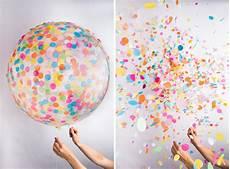 ballons mit konfetti jumbo konfetti ballons das kraftfuttermischwerk
