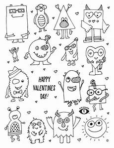 free valentines coloring page printable eye power wear
