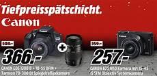 Media Markt Tiefpreissp 228 Tschicht Mit Verschiedenen Canon