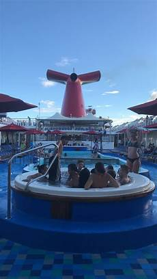 pool spa fitness carnival fascination cruise ship