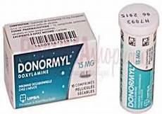 medicament pour dormir donormyl