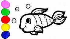 malvorlage fisch einfach ausmalbilder fur euch