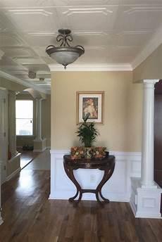 Home Decor Ideas Ceiling by The Virginian Glue Up Styrofoam Ceiling Tile 20 Quot X20 Quot