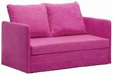 kinder schlafsofa schlafsofa rosa kinder sofa kindersofa und sofa