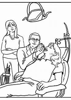 Kostenlose Malvorlagen Zahnarzt Zahnarzt Ausmalbilder Malvorlagen 100 Kostenlos