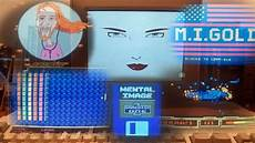 mental image game disk 1 amiga 500 with commodore 1084