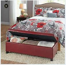 upholstered storage ottoman bench coffee table bedroom furniture new ebay