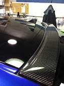 Wrapped Roofanthena Carbon Fiber Rear Window Trunk